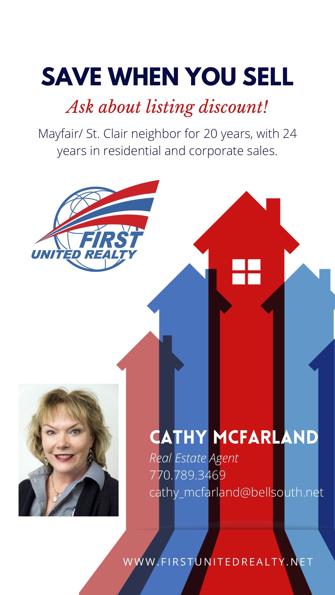 Cathy McFarland - 2020 Ad